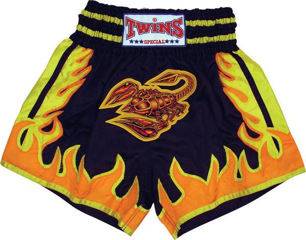 Twins Twins Thai Style Trunks Scorpion W/Flames